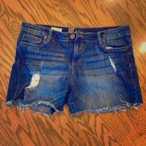 Kut from the kloth denim shorts size 14
